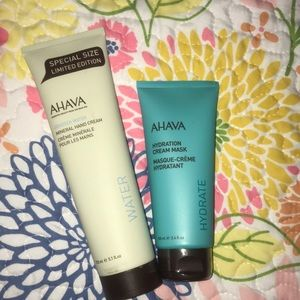 Other - NWT AHAVA Hand Cream and Hydration Mask